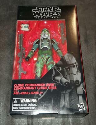 "Star Wars The Black Series - Clone Commander Gree 6"" FREE SHIPPING!"