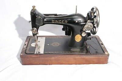 Antique SINGER Sewing Machine 1937 Model 128
