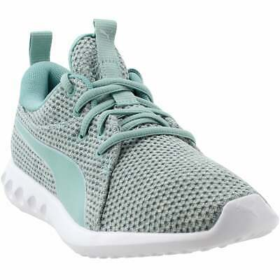 Puma Carson 2 Nature Knit  Casual Running Neutral Shoes Blue Womens - Size 10 B