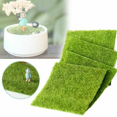 de jardin Césped artificial Falso musgo Green Grass Cesped decorativo