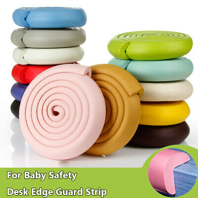 2/5M Table Edge Guard Strip Desk Corner Protector Foam Bumper For Baby Safety~