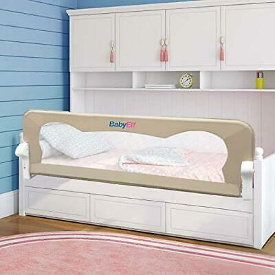 Bed Rail for Toddlers - BabyElf 47 inches (1.2M) Swing Down Bedrail Guard...