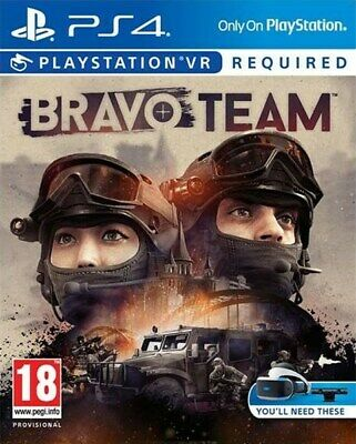 Bravo Team (PS4 PSVR)  BRAND NEW AND SEALED - IN STOCK - QUICK DISPATCH