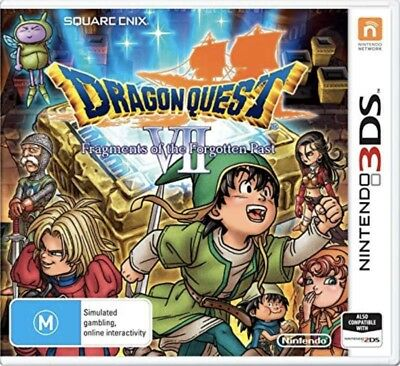 Dragon Quest VII Frammenti di The Forgotten Past (3DS) Nuovo e Aperto - Import