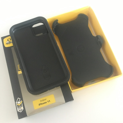 NEW OEM Otterbox Defender Series Case for Apple iPhone 11 Cover ( 6.1' ) Black