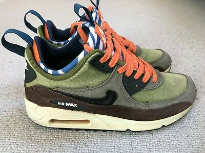 NIKE AIR MAX 90 Sneakerboot Premium Lagoon Green UK 7.5