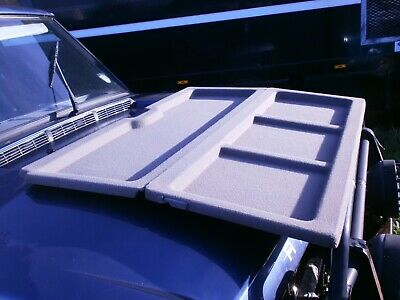 Parcel Shelf in Grey 2 Pin for Range Rover Classic
