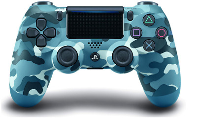 PS4 DualShock 4 Wireless Controller for Sony PlayStation 4 - Camoflague Blue