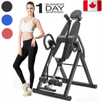 Exercise Inversion Table Invert Align Headstand Bench Back/Neck Pains Relief CA