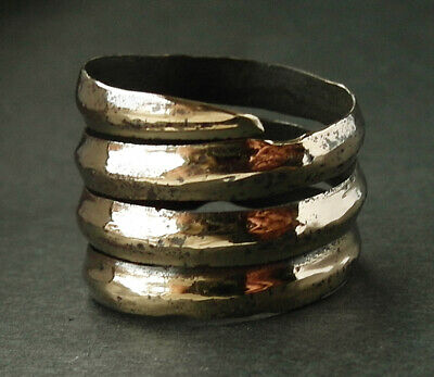A genuine ancient Viking bronze ring - wearable