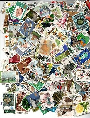 A large selection of decimal stamps, all used, a good variety