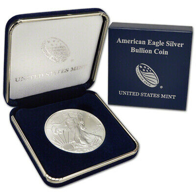 2020 American Silver Eagle in U.S. Mint Gift Box