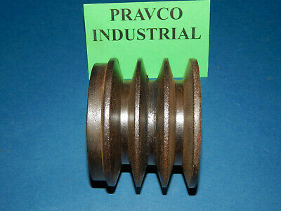 """3-Groove Pulley Sheave 3.75"""" OD"""