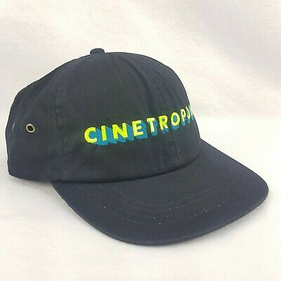 Cinetropolis Cineplex Odeon Movie Theatre Promo Hat Cap Strapback