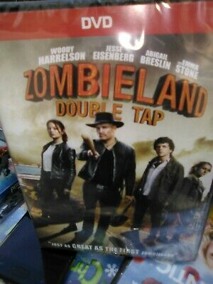 Zombieland: Double Tap (DVD, 2019 2020) SHIPS 1-20-20 NEW Direct USA SELLER