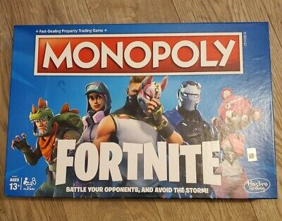 Fortnite Monopoly Limited Edition Board Game Series 1 Parker Brothers