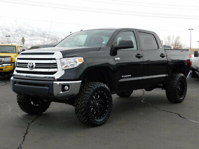 2017 Toyota Tundra SR5 LIFTED TUNDRA CREW CAB SR5 4X4 CUSTOM NEW LIFT WHEELS TIRES REVERSE CAM AUTO TOW