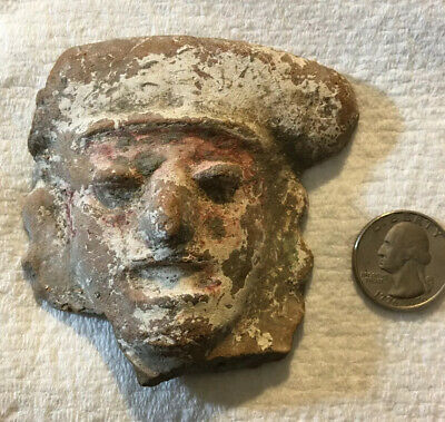 Pre-Columbian Mayan Artifact - This Dates From 300-900 AD Or Before Dug Relic Ff