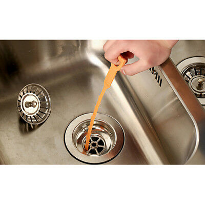 Drain Sink Cleaner Bathroom Kitchen Unclog Sink Tub Drain Hair Removal Stab Tool