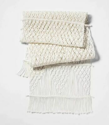 "Target Opal House Macrame Table Runner  72"" x 14"" , Opal House Collection"