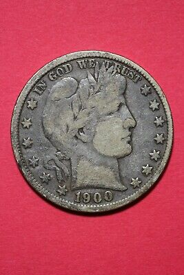 1900 P Barber Liberty Half Dollar Exact Coin Pictured Flat Rate Shipping OCE 032