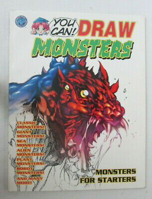 You Can Draw Monsters: Monsters for Starters Softcover Antarctic Press Manga