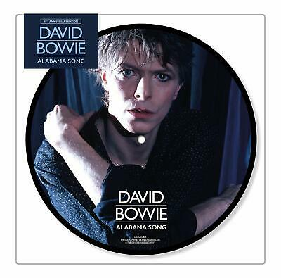 "DAVID BOWIE 'ALABAMA SONG' (40th Anniversary) 7"" VINYL Picture Disc (In Stock)"