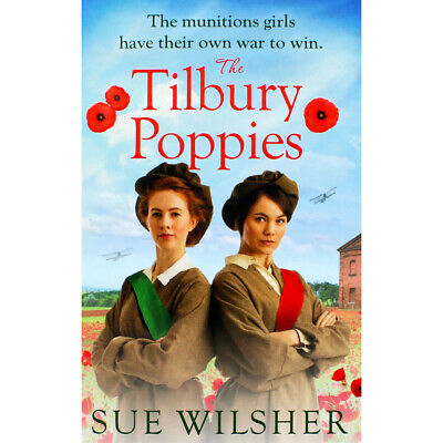 The Tilbury Poppies by Sue Wilsher (Paperback), Fiction Books, Brand New