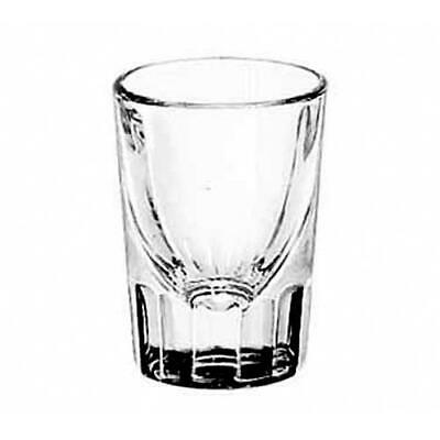 Libbey Glassware - 5127 - 1 1/2 oz Fluted Whiskey Glass