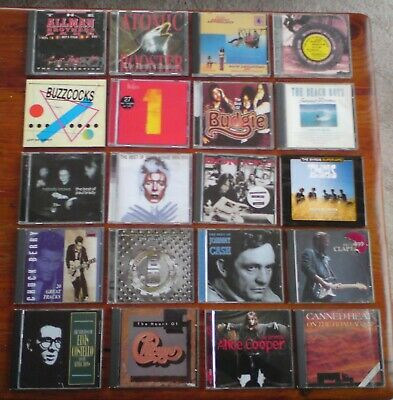 Job Lot Any 5 Rock Compilation Cd's You Choose .