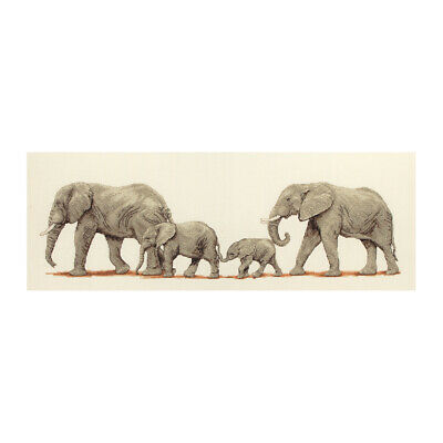 ANCHOR | Counted Cross Stitch Kit: Elephant Stroll - Wall Hanging | PCE732