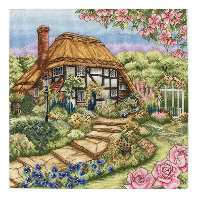 ANCHOR | Counted Cross Stitch Kit: Rose Garden - Wall Hanging | PCE944