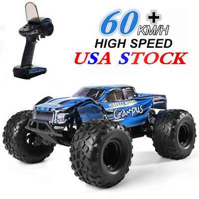 HSP Brushless Motor RC Car 1/10 2wd Off Road Monster Truck Lipo Battery Truck US