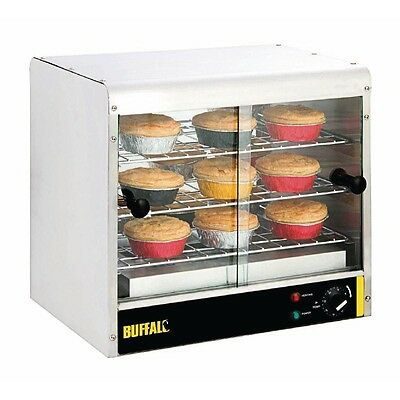 Buffalo 3 Tier Heated Display Pie Cabinet 30 Pies -  GF454  Catering Warmer Cafe