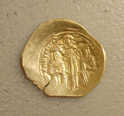 AD 1282-1328 Andronicus II Palaeologus Ancient Byzantine Gold Hyperpyron XF