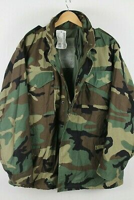 NWT Original Issued U.S. Military M-65 Field Jacket - Size Large/Regular