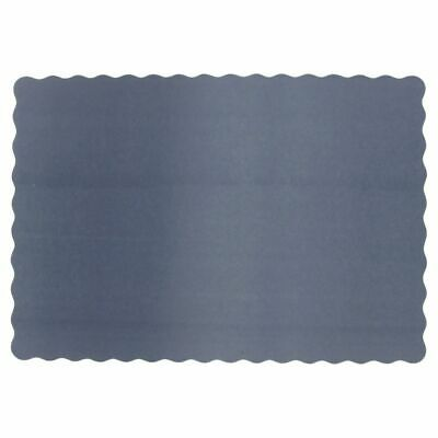 "Lapaco 314-205 10 x 14"" Navy Blue Paper Placemat - 1000 / CS"