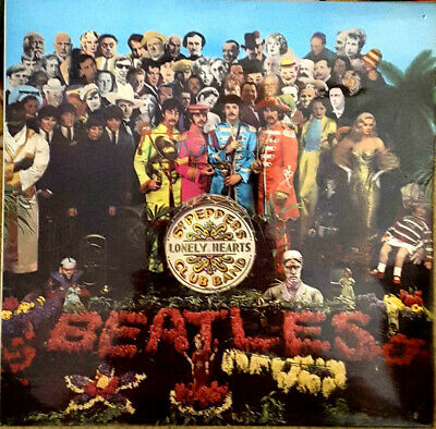 BEATLES - SGT. PEPPER'S LONELY HEARTS, UK, Parlophone, Album, PCS 7027,   '73