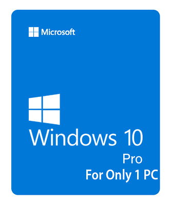 Windows 10 Pro Genuine License Key PROFESSIONAL Win 10 Pro 32/64 bits 1PC 🔥