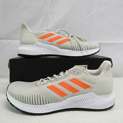 Adidas Men's US 10 Solar Ride Running Shoes White/Orange/Cloud White EF1422