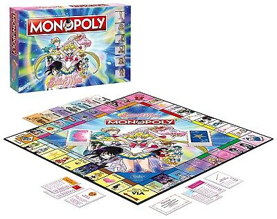 Monopoly Version Special Sailor Moon Tongue Italian Official Monopoly