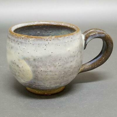 TP36)Japanese Pottery Coffee Cup/Tea Cup wabi/sabi artist Seigan Yamane