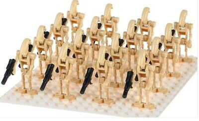20 X Lego Compatible Star Wars Battle Droid Mini Figures Army Bestprice New