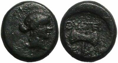 Ancient Greek coin of Thyateira, Lydia 2nd Century BC
