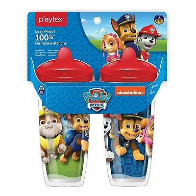 Playtex Sipsters Insulated Sippy Cups 2 Pk Baby Toddler Paw Patrol Chase