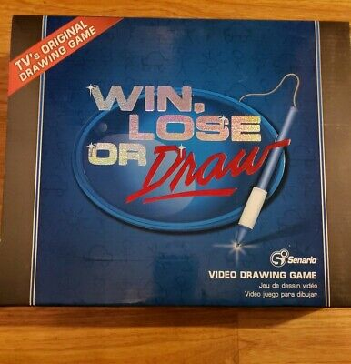 Win, Lose or Draw Video Game - Electronics Family Game Night