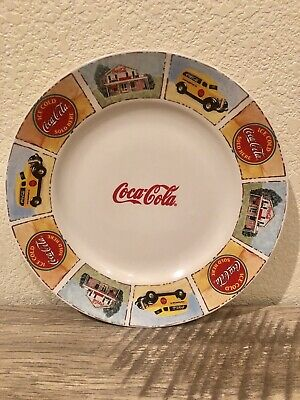 """Coca Cola Diner Plate by Gibson """"Good Ole Days"""" Discontinued"""