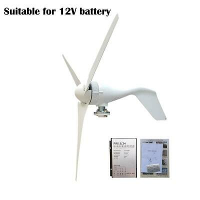 S2 Wind Turbine Generator 100W DC 12V/24V Businesses 3 Blade with Controller
