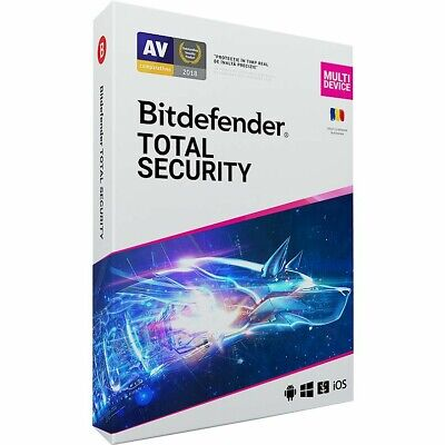 Bitdefender Total Security 2020 | 5 Devices | 3 Months | GLOBAL | INSTANT