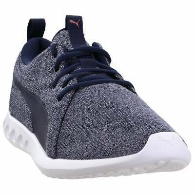 Puma Carson 2 Knit  Casual Running  Shoes - Navy - Womens
